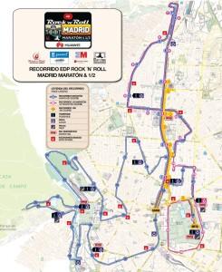 Madriidi maratoni rajakaart